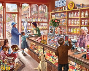 Old caramelle negozio