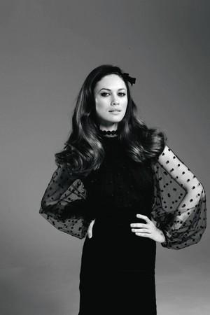 Olga in Elle Russia (2011)