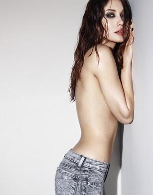 Olga in Esquire (2010)