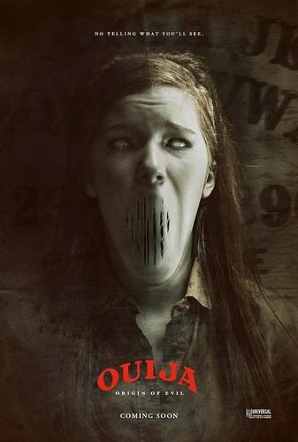 डरावनी फिल्में वॉलपेपर titled Ouija: Origin of Evil Posters