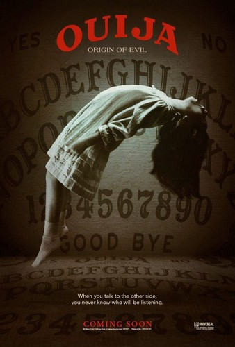 Film horror wallpaper entitled Ouija: Origin of Evil Posters