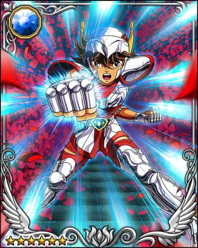 Saint Seiya (Knights Of The Zodiac) Gambar Pegasus Seiya