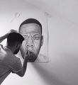 Pencil drawing of jay  - jay-z fan art