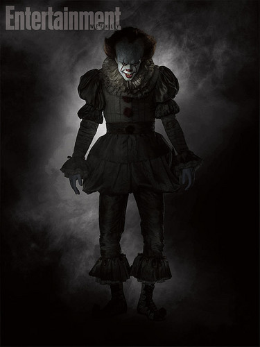 Horrorfilme Hintergrund titled Pennywise from IT (2017)