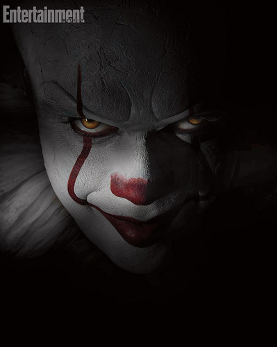 film horror wallpaper entitled Pennywise from IT (2017)
