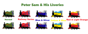 Peter Sam And His Liveries