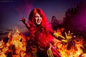 Phoenix Jean Grey cosplay 5 por shproton