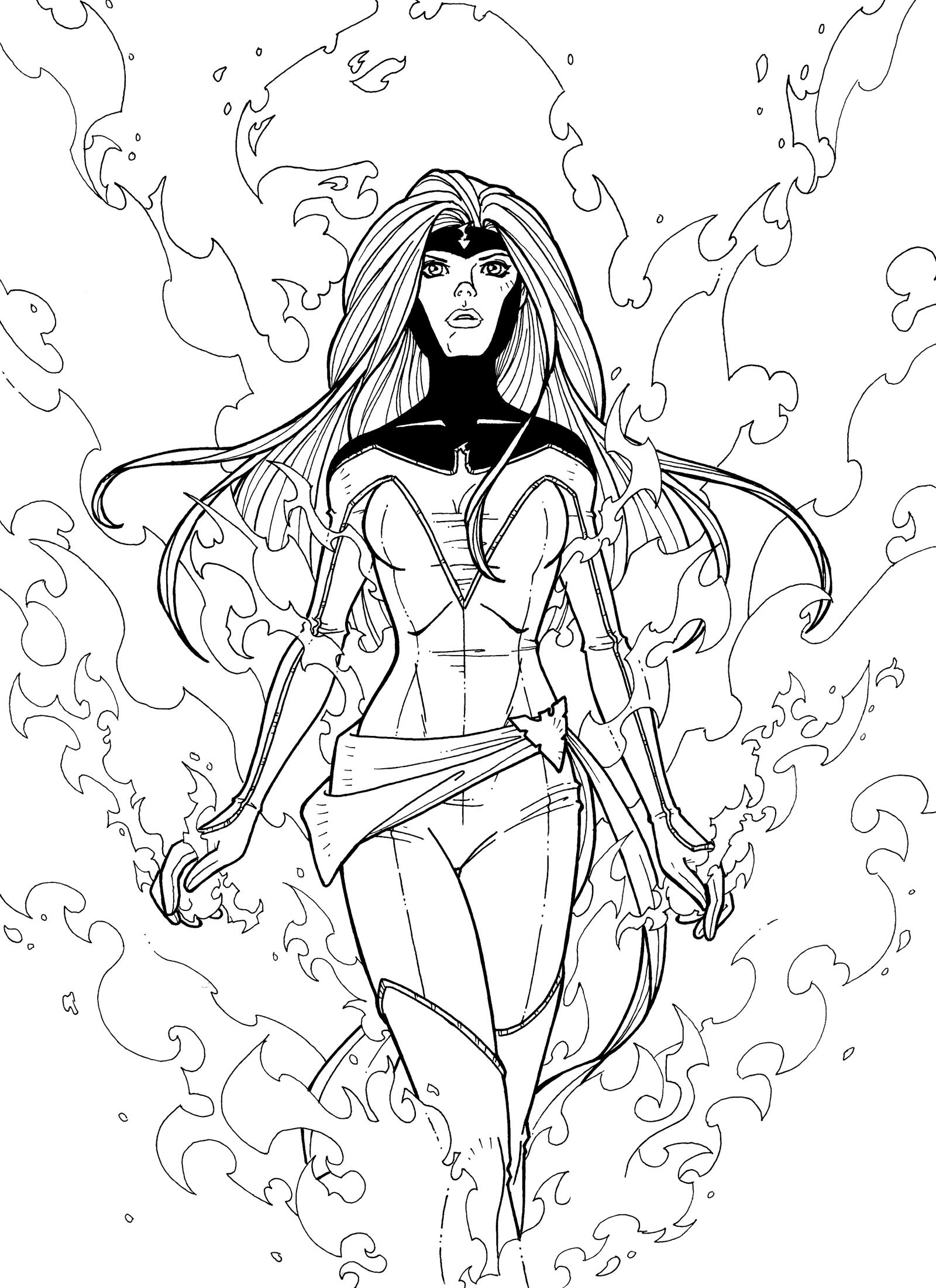 X men coloring pages | Superhero coloring pages, Superhero ... | 2200x1600
