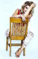 Photo to Painting Emily Bett Rickards - emily-bett-rickards fan art