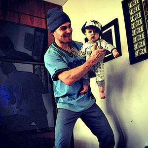 foto to Painting Mavi and Stephen Amell