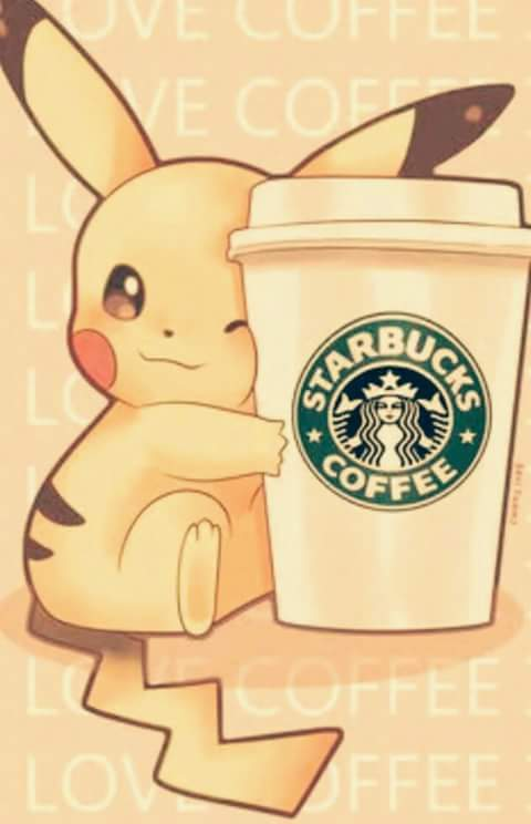 Top xXLowXx images Pika starbucks HD wallpaper and background photos  HH03