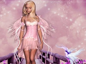 Pink Fairy wallpaper 4404148