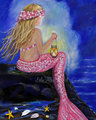 Pink Mermaid - mermaids photo