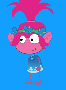 Poppy from Trolls!