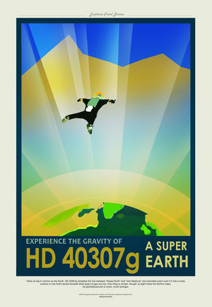 Poster - HD 40307g