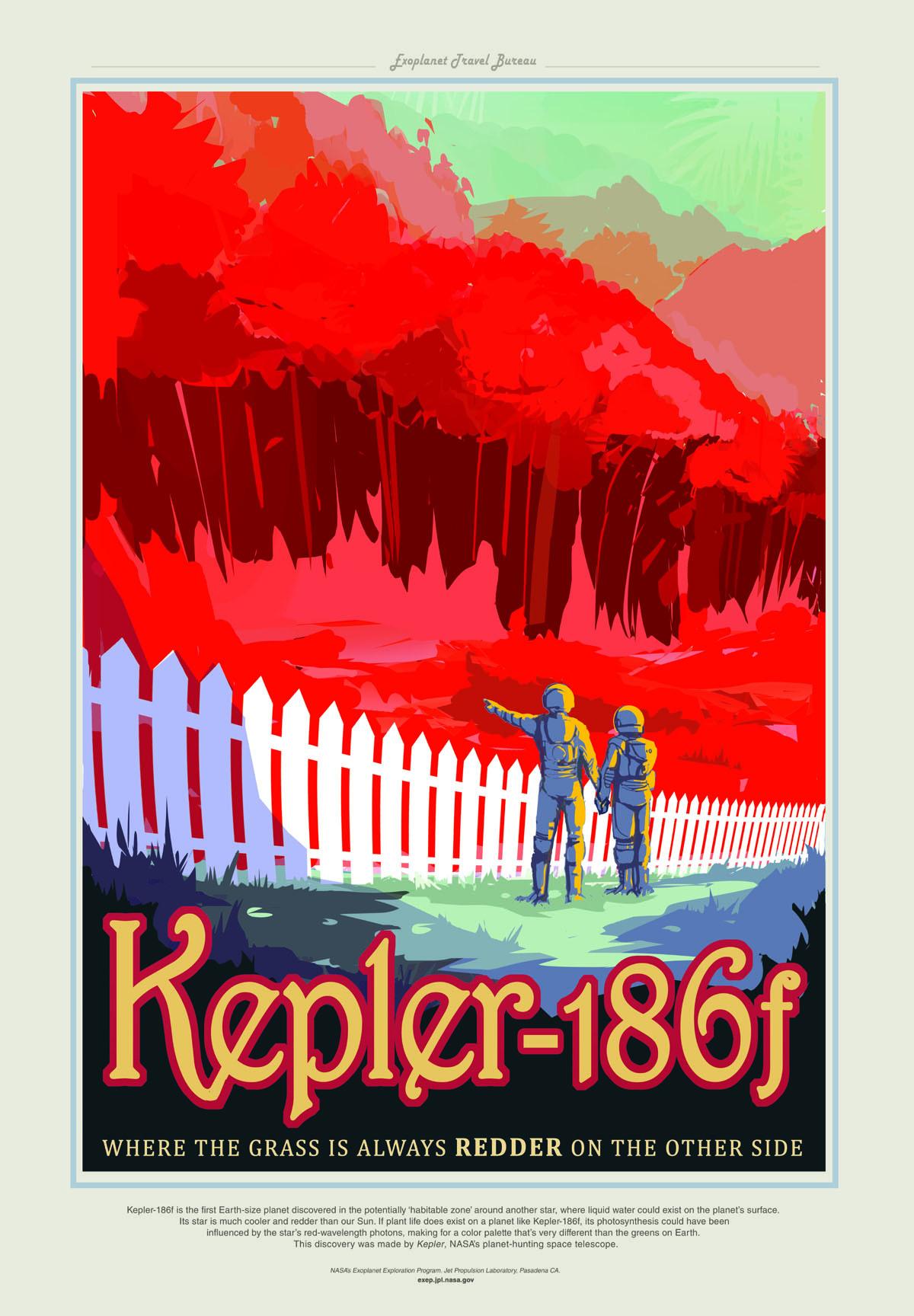 Poster - Kepler-186f