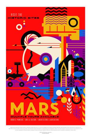 Poster - Mars