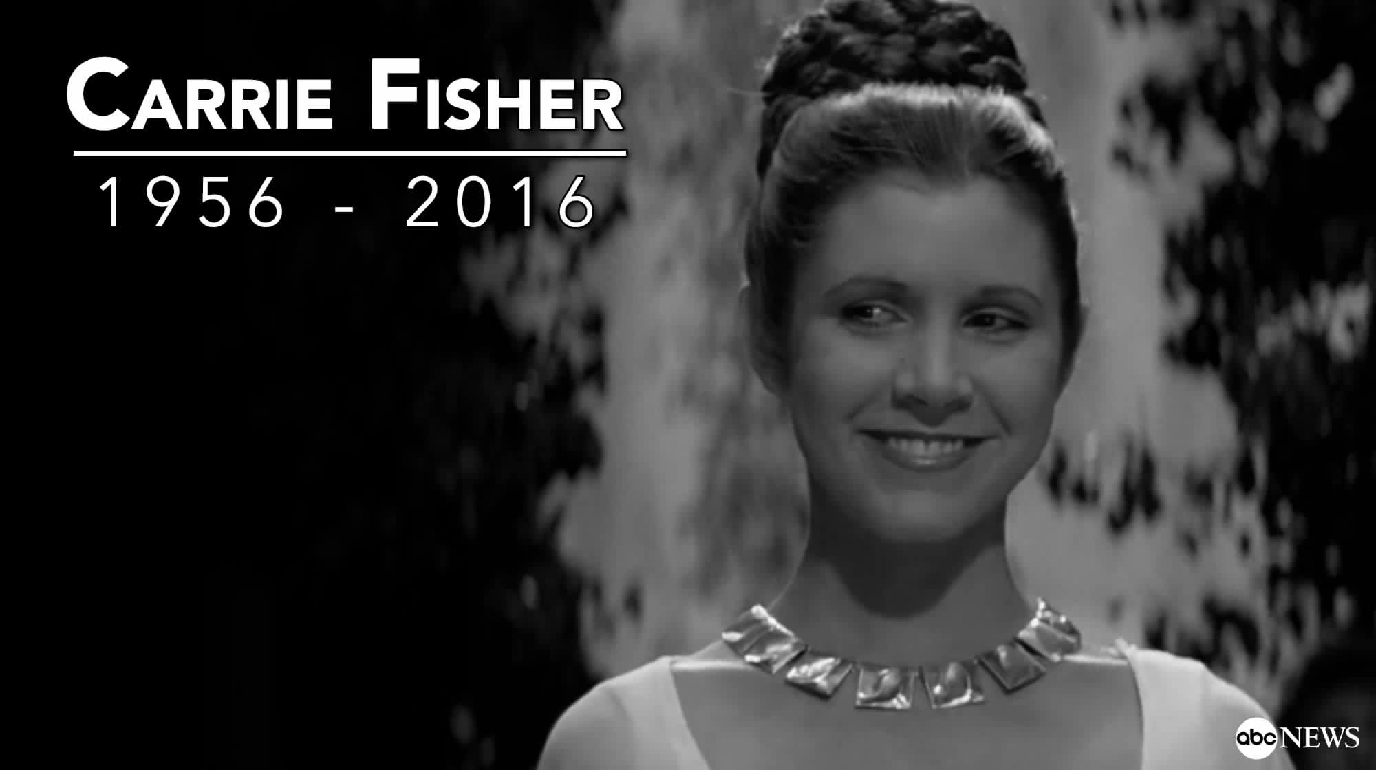 R I P Carrie Fisher Star Wars Wallpaper 40130096 Fanpop