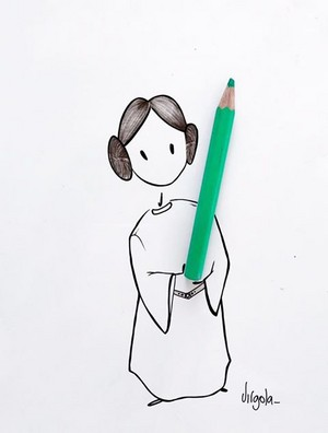 RIP Princess Leia, may the force be with you.