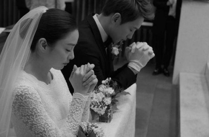 Rain and Kim Tae Hee's wedding