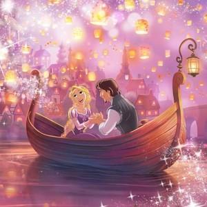 Rapunzel dan Flynn