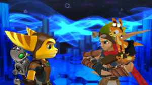 Ratchet and Clank VS Jak and Daxter. MMD..