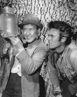Rawhide 4x9 'The Little Fishes' w/Burgess Meredith