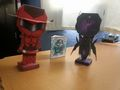 Red Rider and Black Lotus Papercraft - accel-world photo