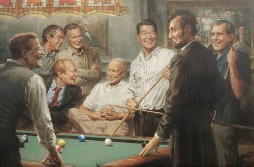 U.S. Republican Party پیپر وال titled Republican Presidents