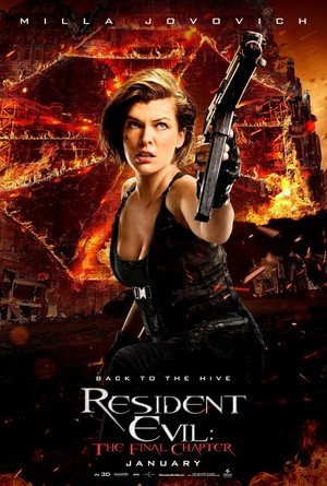 Resident Evil: The Final Chapter - Character Poster - Alice