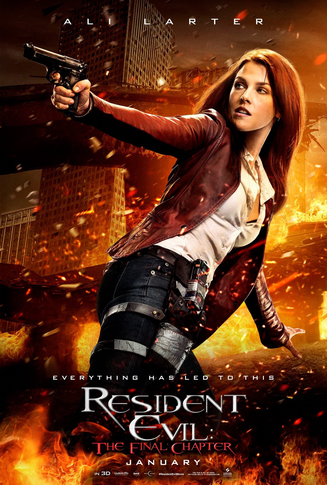 Resident Evil: The Final Chapter - Character Poster - Claire