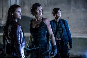 Resident Evil: The Final Chapter - Claire, Alice and Abigail