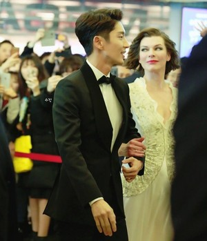 Resident Evil : ‎The Final Chapter ‎ Red Carpet in korea