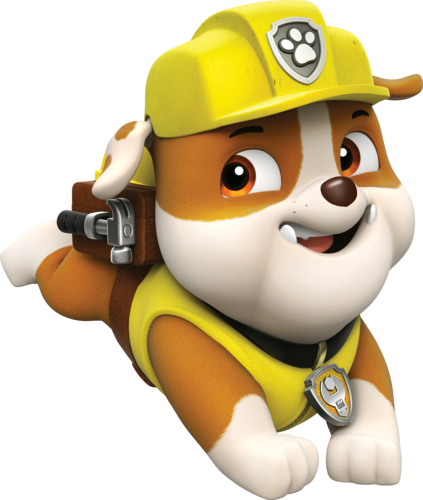 PAW Patrol karatasi la kupamba ukuta called Rubble, The English Bulldog