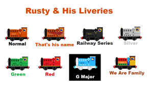 Rusty And His Liveries