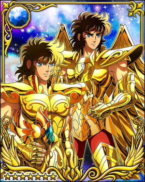 Sagittarius Aiolos and Leo Aiolia