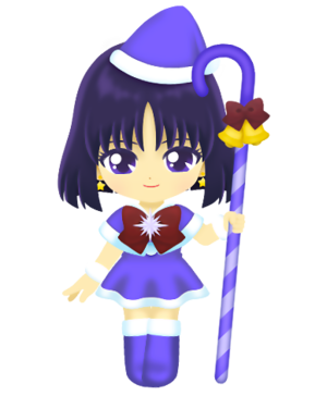 Sailor Saturn - Рождество