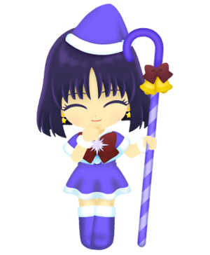 Sailor Saturn - Christmas