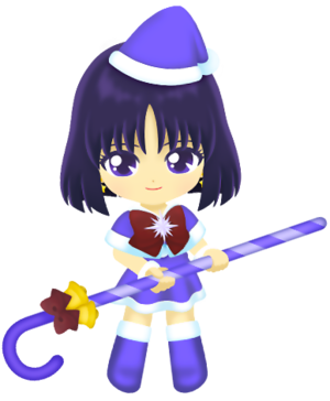 Sailor Saturn - Weihnachten