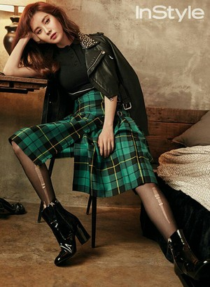 Seohyun for InStyle February issue