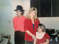 Shanna Ferrigno  Miss this guy. Looks photoshopped but meeting him was one of my favorite Christmas  - michael-jackson photo