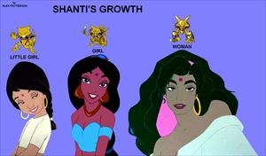 Shanti's Growth