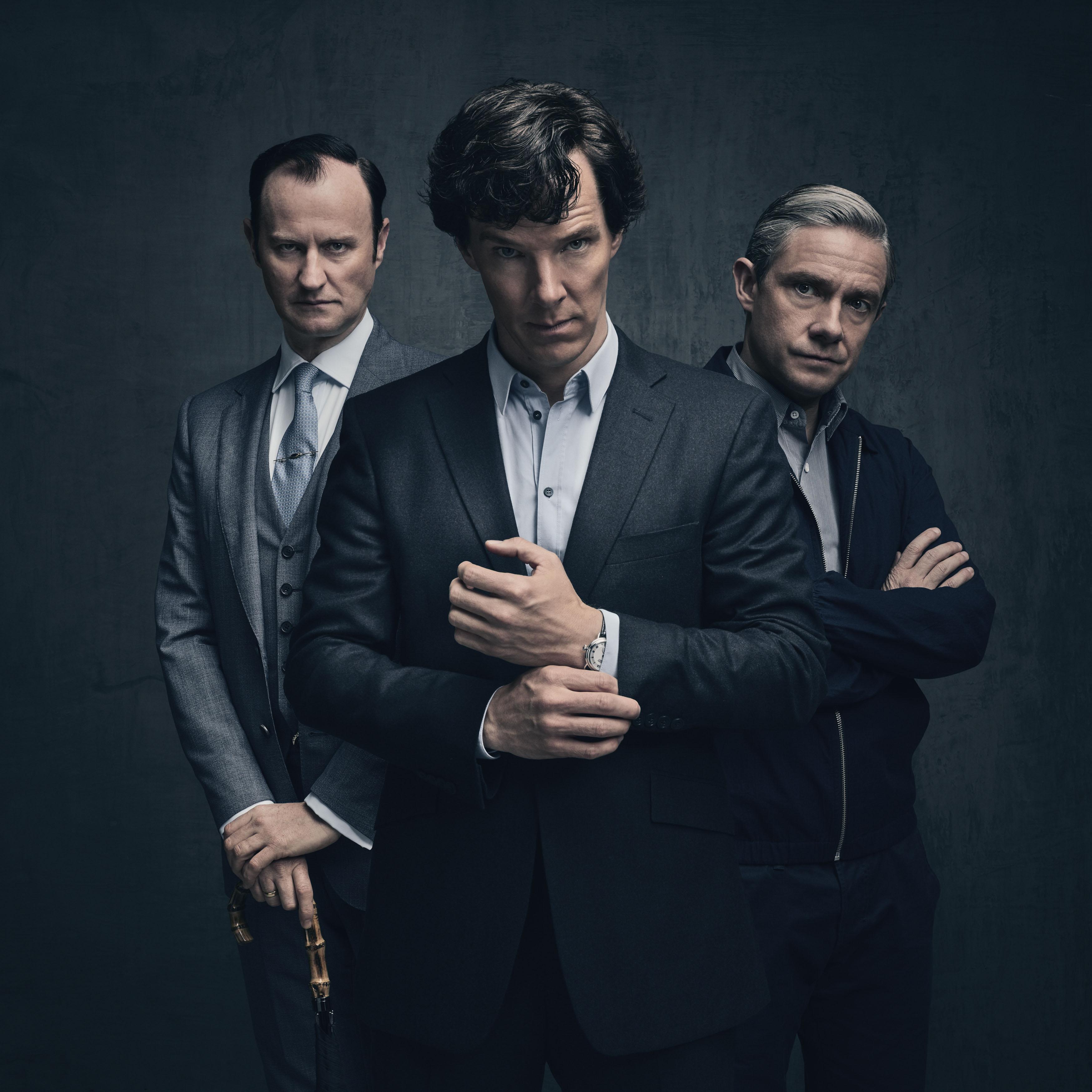 Sherlock - Series 4 - Character Promo Pics