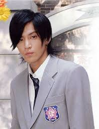 Shun as Sano in Hana Kimi