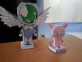 Silver Crow Papercraft - accel-world photo