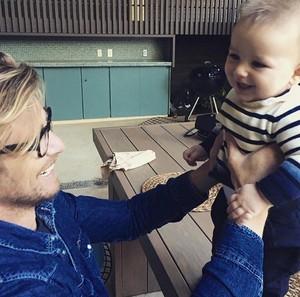Simon and Robin's son