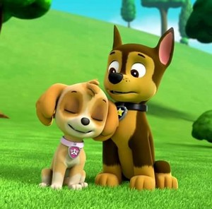 Skye and Chase