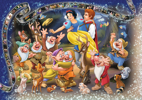 Snow White and the Seven Dwarfs wallpaper entitled Snow White and the Seven Dwarfs