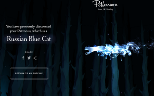 Some pottermore things