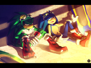 Sonic Riders:Sonic